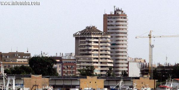 Imagen de viviendas en Huelva.