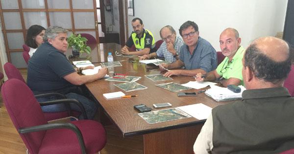 Imagen de la comisión organizadora de la Travesía Marismas del Odiel.