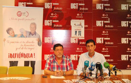 Emilio Remesal y Sebastián Donaire en rueda de prensa.
