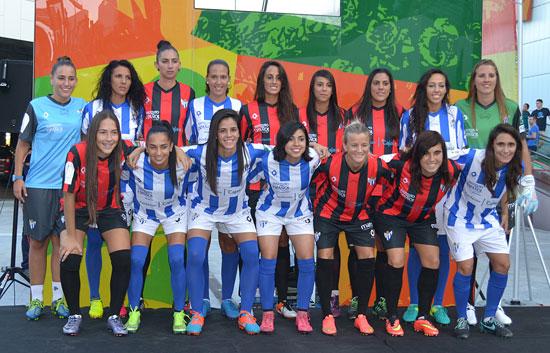 Plantilla del Sporting de Huelva.