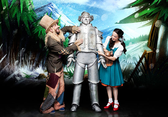 Imagen del musical familiar 'El Mago de Oz'.