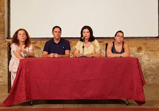Imagen de la inauguración del IV Festival de Gastronomía, Deporte, Arte y Música de El Cerro de Andévalo.