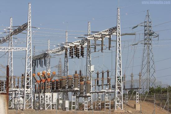 Imagen de una instalación eléctrica.