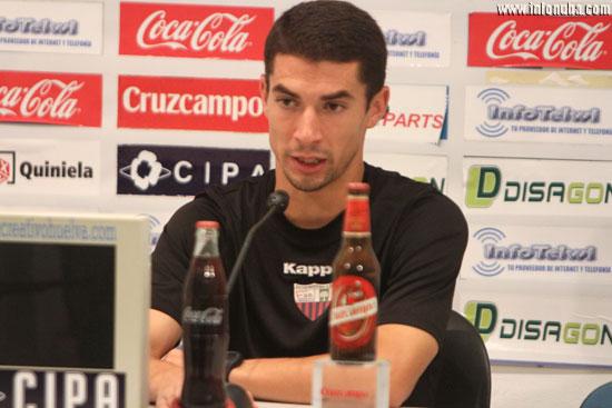 Diego Merino en rueda de prensa.