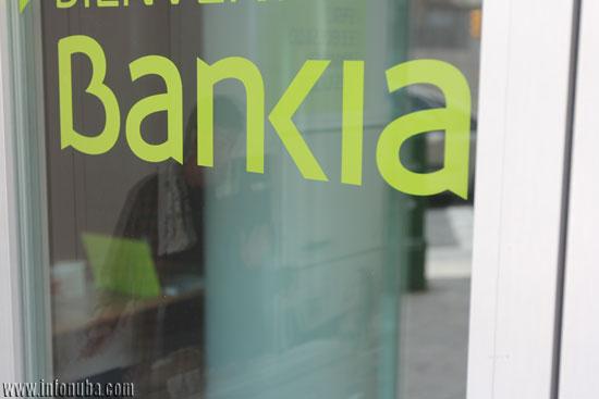 Imagen de una oficina de Bankia en Huelva.