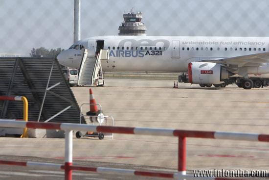 Imagen del Aeropuerto de Sevilla.