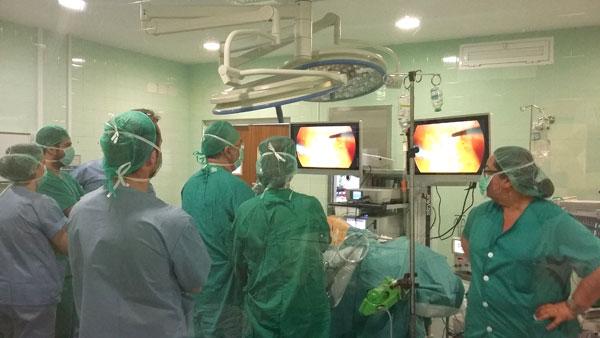 Imagen de una intervención quirúrgica.