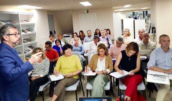 Imagen de la impartición del curso.