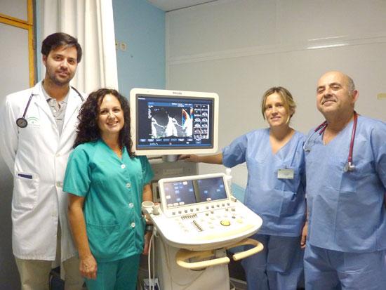 En la imagen, algunos de los profesionales de Cardiología implicados en la nueva unidad.