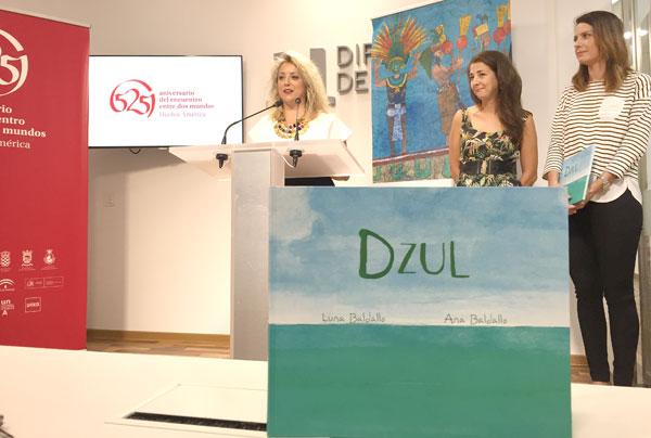 La Diputada de Cultura, Lourdes Garrido, durante su intervención en el acto.