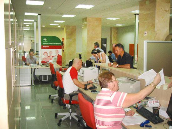Imagen de una oficina del SAE.