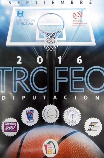 Cartel del VII Trofeo Diputación de Baloncesto.