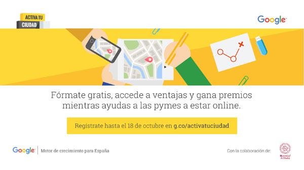 """Imagen de la actividad formativa """"Activa tu Ciudad""""."""