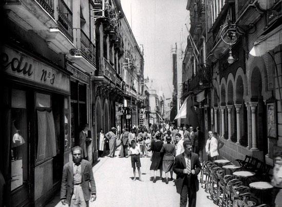 Imagen antigua de Huelva.