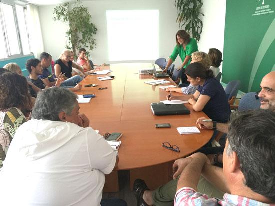 Reunión sobre la Red Natura 2000.