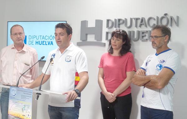 Domingo Ramírez durante el acto de presentación de la actividad.