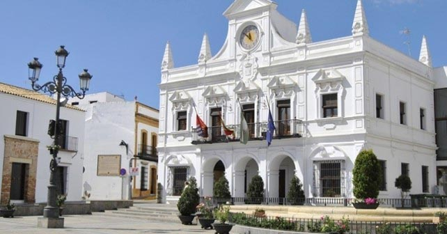 Imagen del Ayuntamiento de Cartaya.
