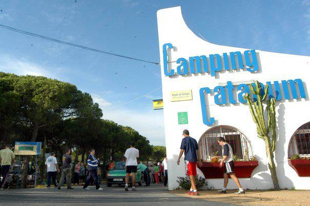 Imagen de un camping en Cartaya.