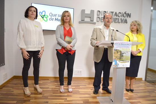 Presentación del libro de David González Cruz en la Diputación de Huelva.
