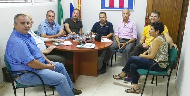 Imagen de la reunión sobre el Congreso Iberoamericano de Entrenadores en Huelva.