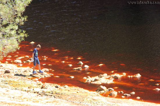 Imagen del río Tinto.