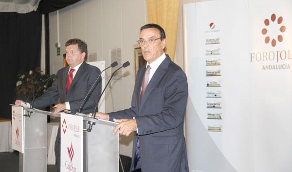 Ignacio Caraballo durante su intervención en el Foro Joly.