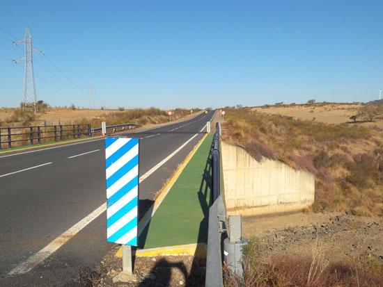 Imagen de una de las carreteras donde se han planificado las actuaciones.