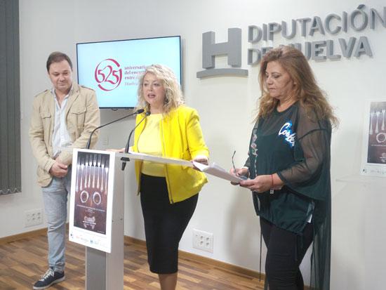 Imagen de la presentación en la Diputación de Huelva del III Encuentro Iberoamericano de Cocina.