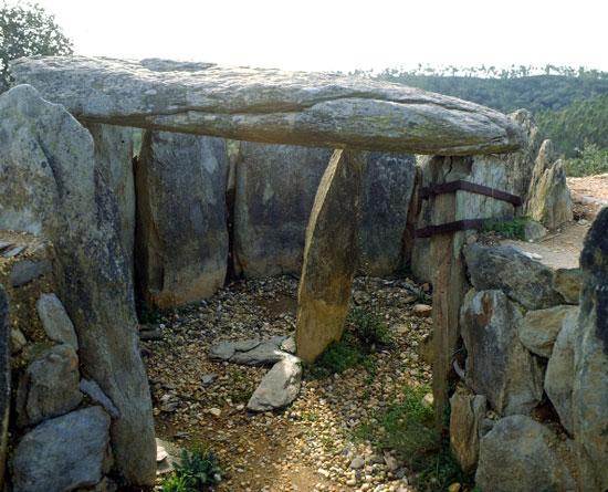 Imagen de los dólmenes del Pozuelo.
