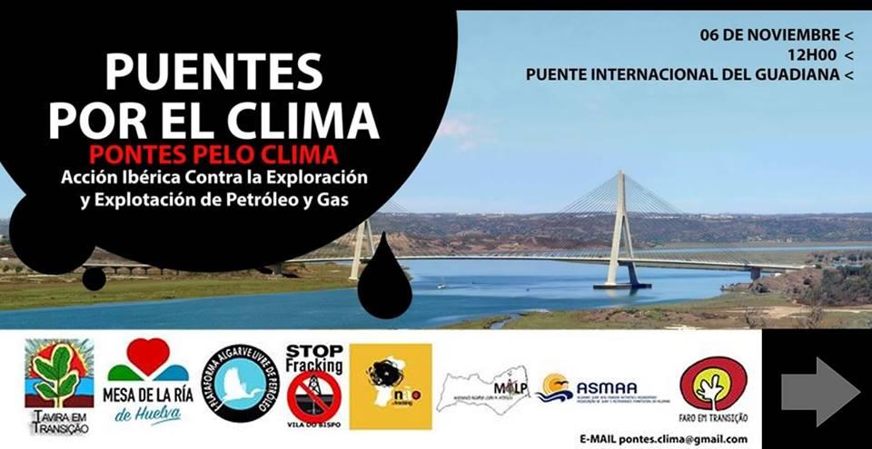 """Cartel de la actividad """"Puentes por el Clima"""""""