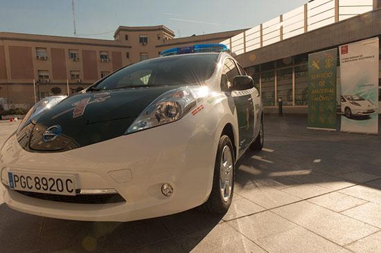 Imagen del vehículo eléctrico.