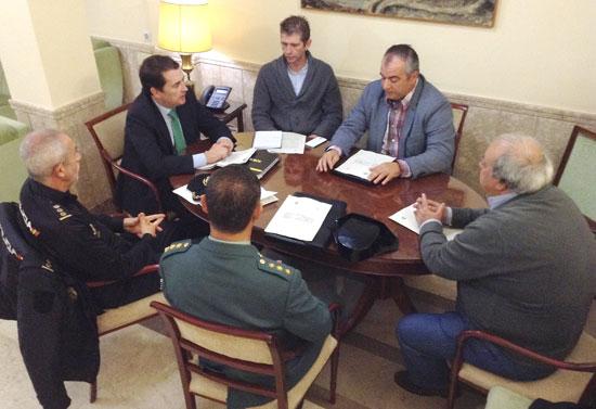 Imagen de la reunión celebrada en la mañana de ayer.