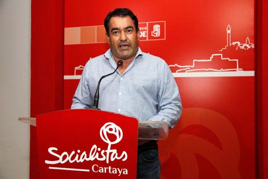 Antonio Escudero en rueda de prensa.