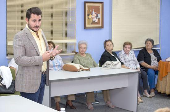 Imagen de una de las charlas sobre salud.