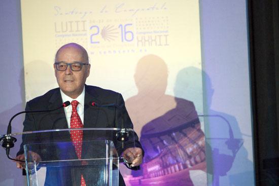 Antonio Fernández Jurado durante su intervención en el acto.