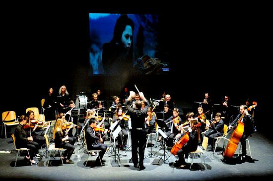 Imagen del concierto de la Orquesta Vita Música.