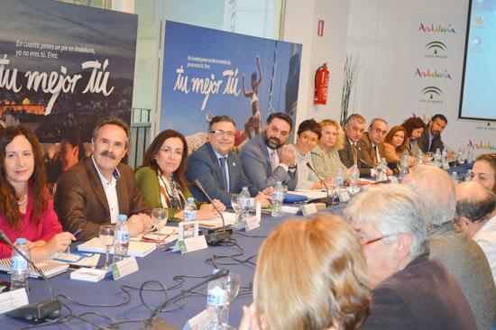 Reunión sobre el Plan Estratégico de Marketing Turístico Horizonte 2020.