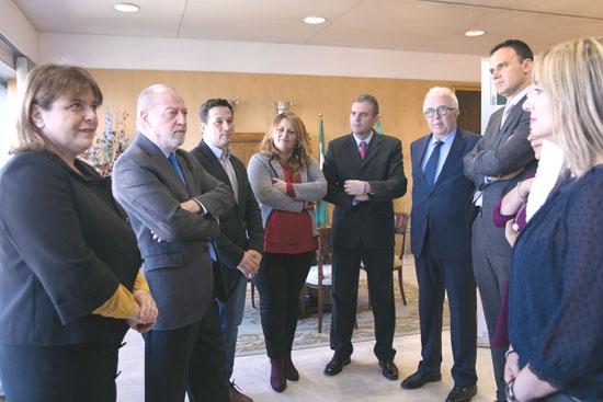 Imagen del encuentro sobre innovación de las diputaciones.