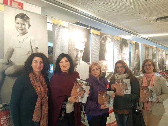 Presentación de la exposición en la Biblioteca Pública Provincial de Huelva