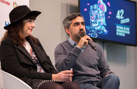 Imagen de la presentación del largometraje 'Falling'.