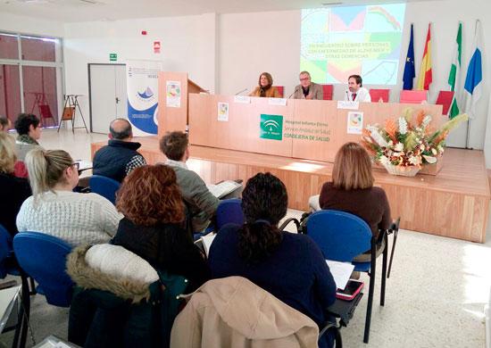 Imagen de un encuentro sobre la enfermedad de Alzheimer.