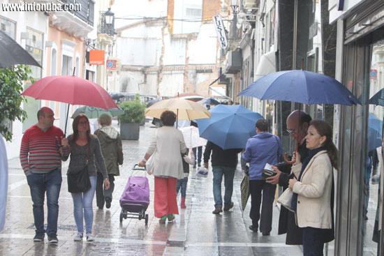Imagen de una calle en el centro de Huelva.