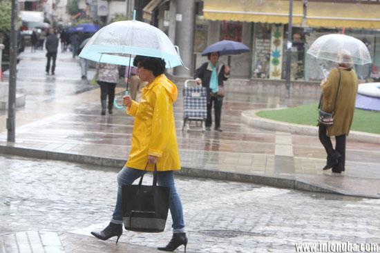 Lluvias en Huelva