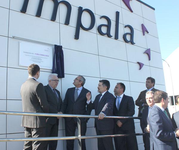 Inauguración de la terminal el pasado miércoles.
