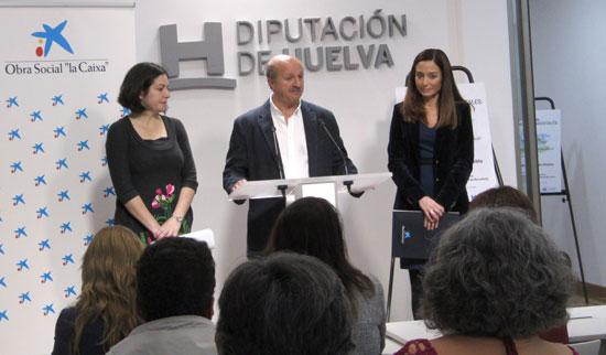 Presentación del programa en la Diputación de Huelva.