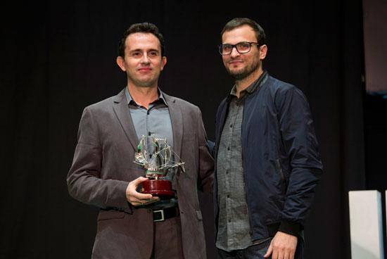 Premio al mejor cortometraje.