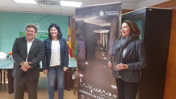 Presentacion del las jornadas sobre patrimonio de Trigueros.