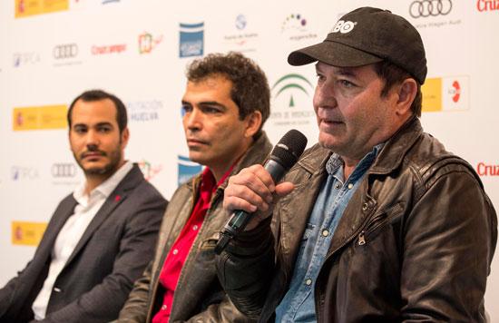 En la presentación han participado Manuel H. Martín, director del Festival, y los actores Vladimir Cruz, Jorge Perugorría y Carlos Enrique Almirante, protagonista del último film dirigido por Perugorría, 'Fátima o el Parque de la Felicidad'.