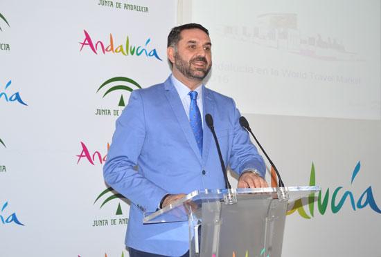 Francisco Javier Fernández en rueda de prensa.