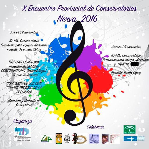 X Encuentro de Conservatorios de la Provincia de Huelva